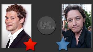 Joseph Morgan vs James McAvoy